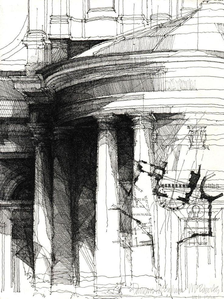 Sketch by Duncan McRoberts