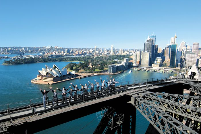 Sydney Harbour Bridge Climb: Buckets Lists, Sydney Harbour Bridges, Australia, Bridges Climbing, Places, Bridgeclimb Sydney, Sydney Bridgeclimb, Things To Do, Bridges Sydney