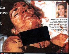 Crime Scene Photographs, Nicole Brown Simpson and Ronald Goldman/title