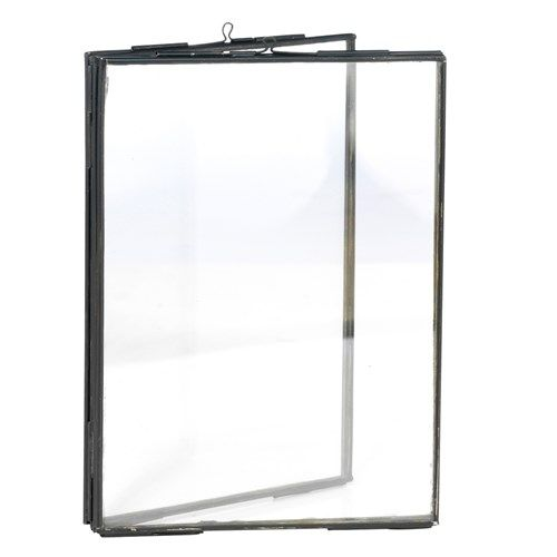 Madam Stoltz Dubbele Fotolijst 10 x 15 cm - Zwart