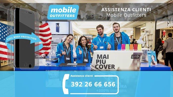 Nuovo numero assistenza clienti Mobile Outfitters
