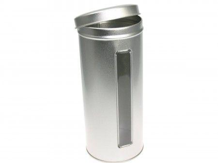 Stülpdeckeldose mit Sichtfenster(Ø76x180mm)