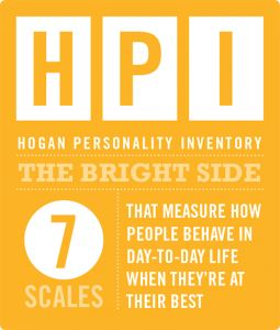 Hogan Personality Inventory HPI Bright Side of Personality