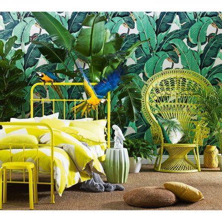 Sunday Sunshine Yellow Bed Frame | Domayne Online Store