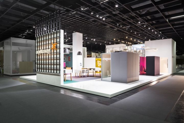 Exhibition Stand Design In Germany : Carpet concept flagship stand at orgatec by