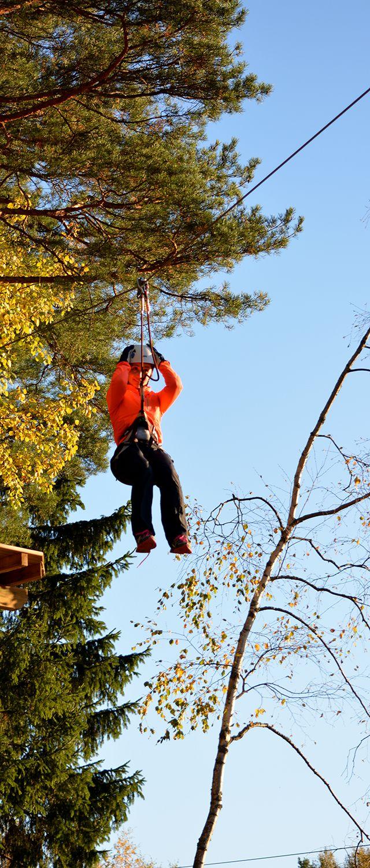 Vauhdin hurmaa. The thrill of speed. #seikkailupuisto #treetopadventure #finland #espoo