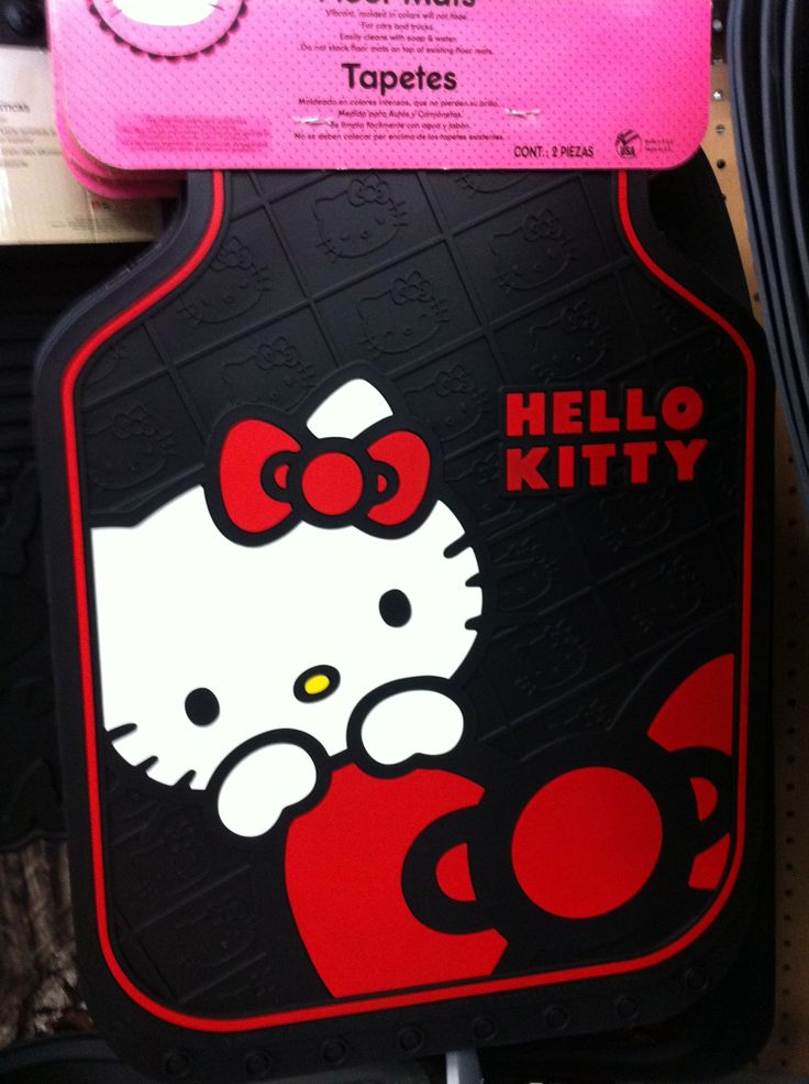Car Mats At Walmart Hello Kitty Pinterest Hello Kitty