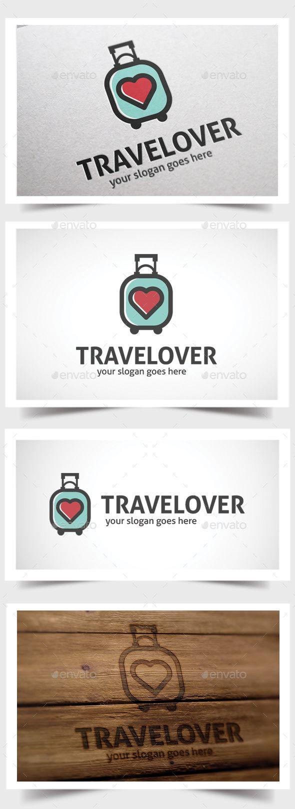Travelover - Logo Design Template Vector #logotype Download it here: http://graphicriver.net/item/travelover/15587162?s_rank=1190?ref=nesto