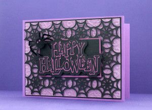 Spider Web Card Cover