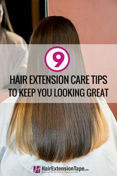 Hair extension care doesn't have to be difficult or stressful, but many users are unsure how to go about it. We want to make this process as easy as possible, so follow these helpful tips for worry-free extension care! #hair #blog #hairextensions