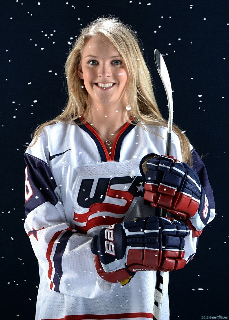 Amanda Kessel Team USA Hockey. BEAUT
