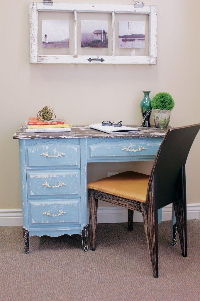 cute cottage chic desk project
