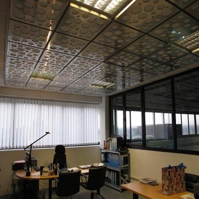 #sound #absorption Stratocell Whisper® and Dibond®