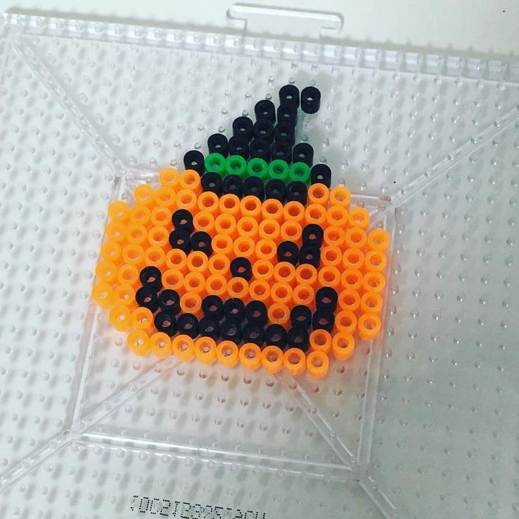 Halloween perler beads by amerisama