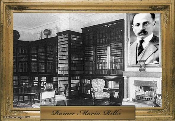 Rainer Maria Rilke (Porträt: AP, Montage: Philip Kleine / Peter Steinmetz)