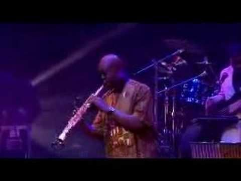 #Godwell Manu Dibango concert at the Barbican, London. Part of Fela Kuti's Black President Festival and featuring Courtney Pine