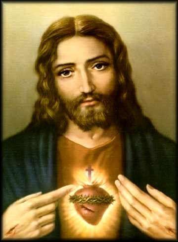 Imagen Del Santisimo Corazon de Jesus