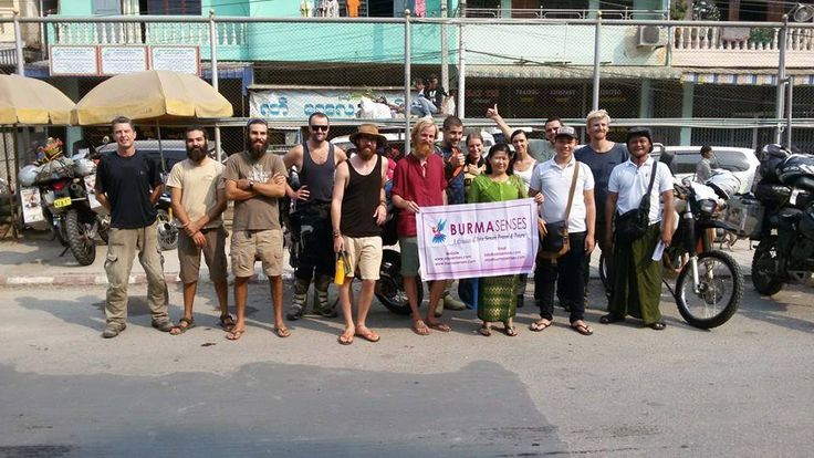 Myanmar Border Crossing 12-day Tour from March 20 to 31, enter at Maesot/Myawaddy, then exit at Moreh/Tamu - Burmasenses staff catch up group at Myawaddy border