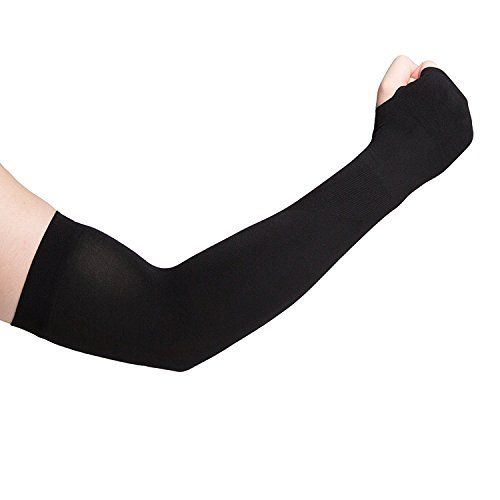 Cooling Arm Sleeves, Cooling Sun Sleeves, Unisex Outside Athletic Hand Cover Cooling UV Protection Arm Sleeves 2 Pair115
