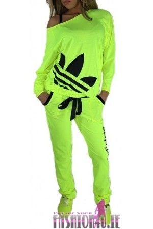 Women's Green Adidas Tracksuit | Please be informed that this is not the original adidas tracksuits.