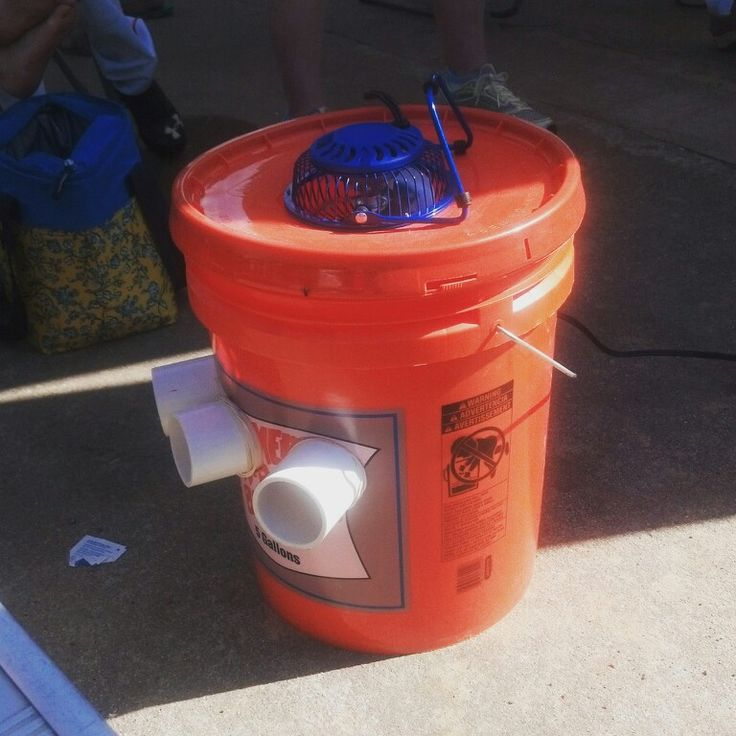 I love this. At the ball park watching the tournament and I see this. #homemade #redneck #airconditioner