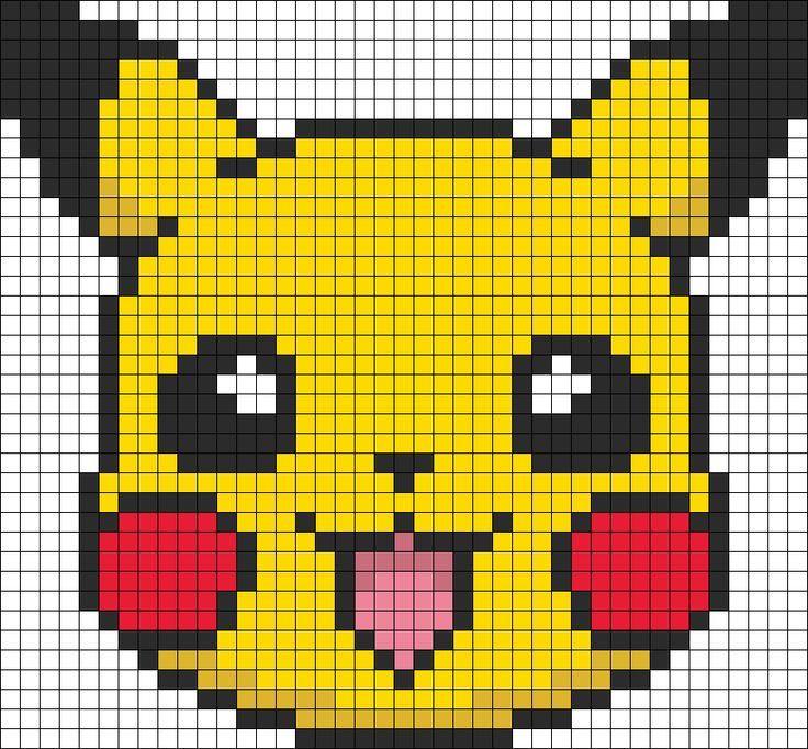 Pokemon Pikachu aus Bügelperlen