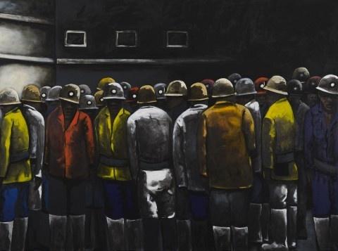 Sam Nhlengethwa – Conversations @ Goodman Gallery (Johannesburg)