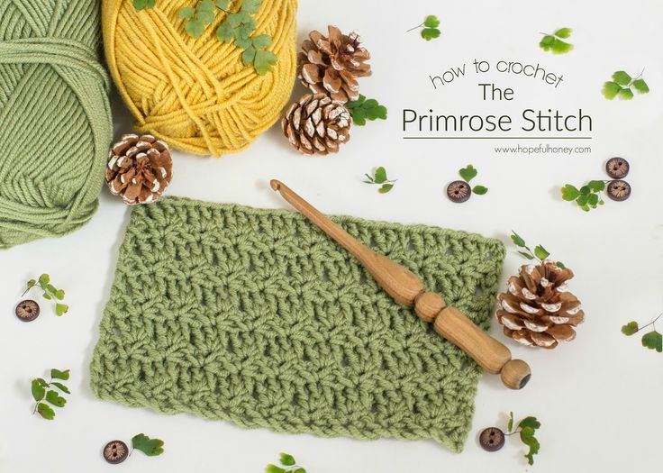 How To: Crochet The Primrose Stitch - Easy Tutorial -  Primrose Stitch creates a pretty sturdy fabric, whilst still featuring a whimsical shell-like texture. Personally, I'm excited to use this stitch for future blanket and scarf projects as I know the end result will be beautiful, and the process delightful!
