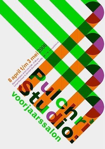 Pulchri Studio - Erik de Vlaam - Studio Dumbar. Various shapes from crossed lines - Lines, Circles, Squares, Triangles.  http://designspiration.net/image/379397597120/