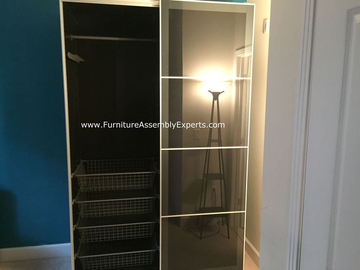 Ikea Pax Wardrobe With Sliding Doors Assembled For A Customer At Her  Apartment In New York