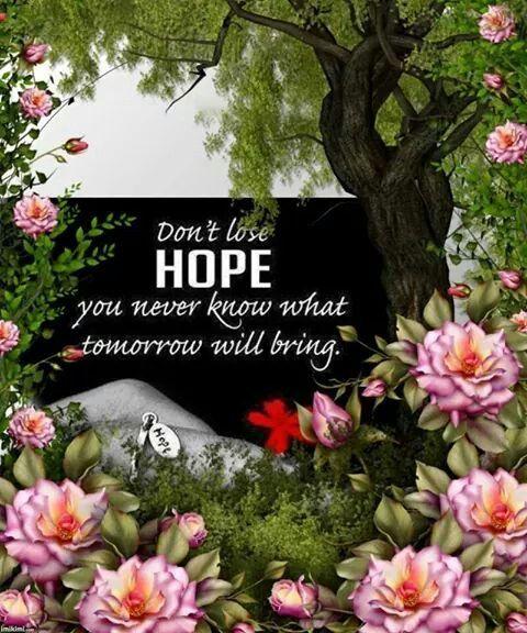 I'm still hope..