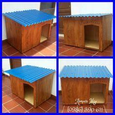 Resultado de imagen para casa para perros recicladas