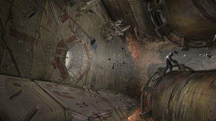 Dead Space concept art: Dead Spaces, Spaces Concept, Deadspac Concept, Concept Art, Concept Levels, Fantasyscifi Art, Comic Art, Spaces Environment, Conceptual Artistry