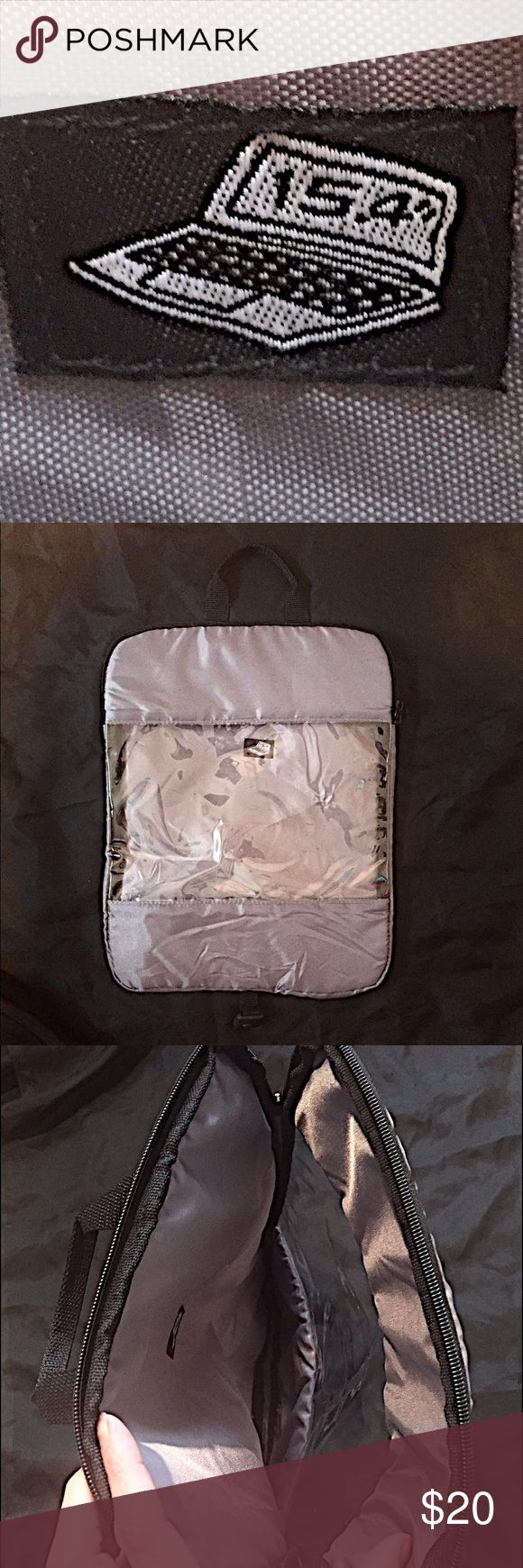 """💻Laptop Protective Case💻 Laptop protective case. Can be carried by itself or inserted into a backpack, or bag. Zip top closure, with clear window insert. Small handle at the top for easy lift and removal. There's an attached clip that can hook into any snap clip on a traditional bag, or inside a backpack if it has one. Removable shoulder harness strap. This will fit up to a 15.4"""" laptop or iPad! Brand New Never Used! Bags Laptop Bags"""