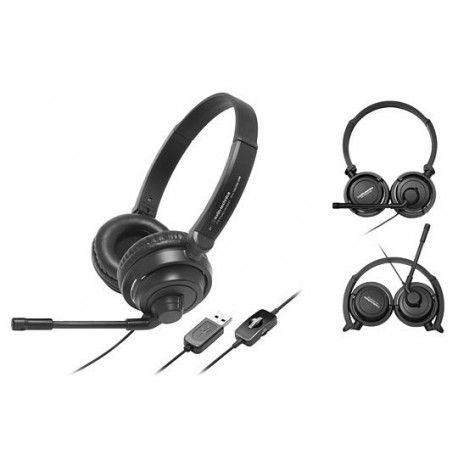 Audio-Technica ATH-750COM = 59 € TTC Casque micro USB - Casque multimedia