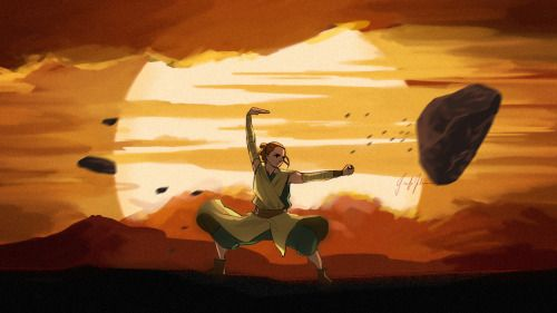 Legend of Korra + Star Wars - http://lazy-afternooner.tumblr.com/post/137249481486/a-quick-bending-au-inspired-by-this-post