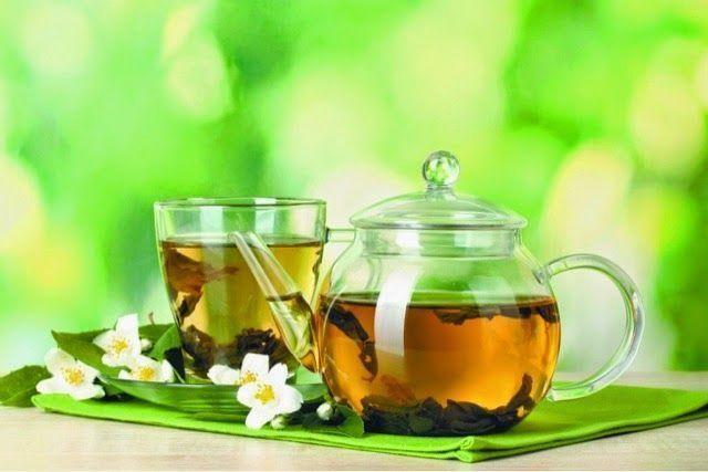 El té verde es un poderoso antioxidante. El contenido de catequinas e isoflavon