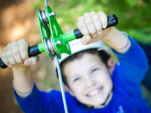 Family Backyard Toys Zipline : Zip Line Kits for a Backyard Zip Line httpwwwthegrommetcom