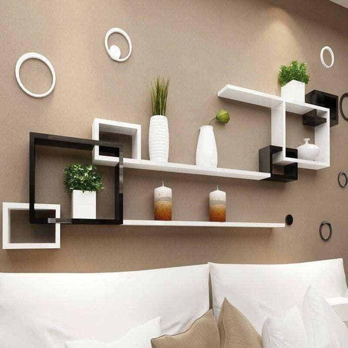 Toilet Wooden Shelves