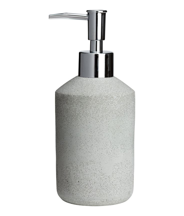 Check this out! Soap dispenser in imitation stone with a plastic pump. Diameter 7 cm, height 18 cm. - Visit hm.com to see more.