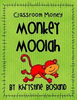 jungle+theme+classroom | Animal/Jungle Theme Classroom Money - Monkey Moolah