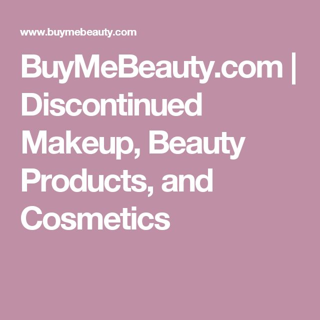 BuyMeBeauty.com | Discontinued Makeup, Beauty Products, and Cosmetics