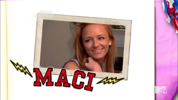 Teen Mom Cast Season 4 Maci Bookout #maci #bookout #macibookout #mtv #teen #mom #teenmom #16andpregnant