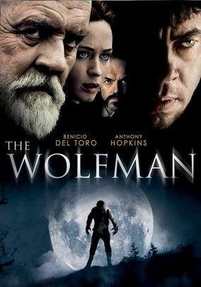 On a visit to London, American Lawrence Talbot gets bitten by a werewolf. Talbot had come to England to make amends with his father, but after a moonlight transformation leaves him with a hunger for flesh, family harmony is the least of his worries.  Cast:Benicio Del Toro, Anthony Hopkins, Emily Blunt, Hugo Weaving, Art Malik, Simon Merrells, Gemma Whelan, Mario Marin-Borquez, Asa Butterfield, Cristina ContesDirector:Joe Johnston