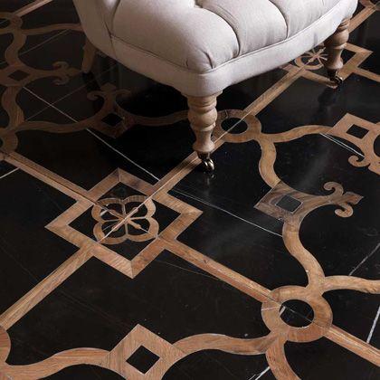 Love this floor. Very elegant!  Vassalletti Artigiani in Toscana