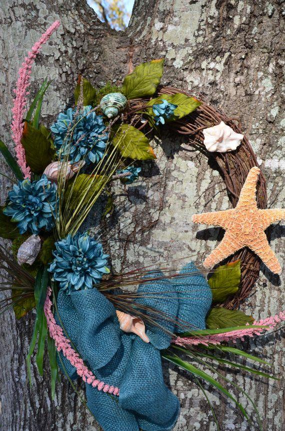 Seashell Ocean Inspired Wreath