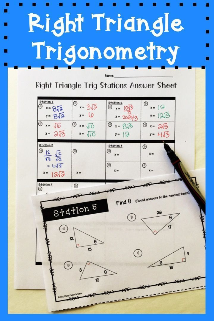 right triangle trigonometry Ok let me first say it, keep reading for having more clarity trigonometry is applicable to every possible triangle you're thinking that it is applicable to only.