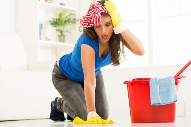 Poradnik Pani domu: Podłoga idealnie czysta - tego się trzymaj! #porządek #porządki #kuchnia #sprzątanie