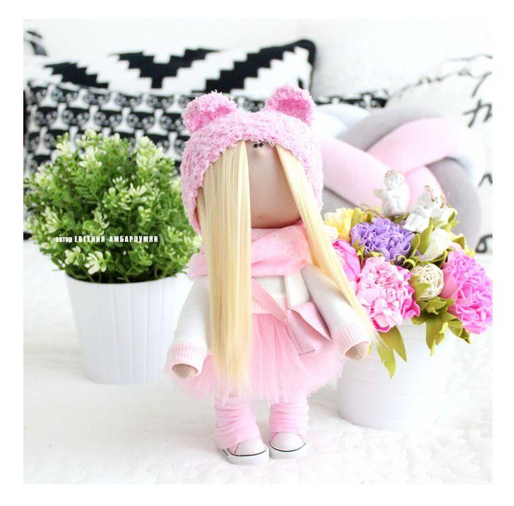 Текстильная куколка eva-dolls.com