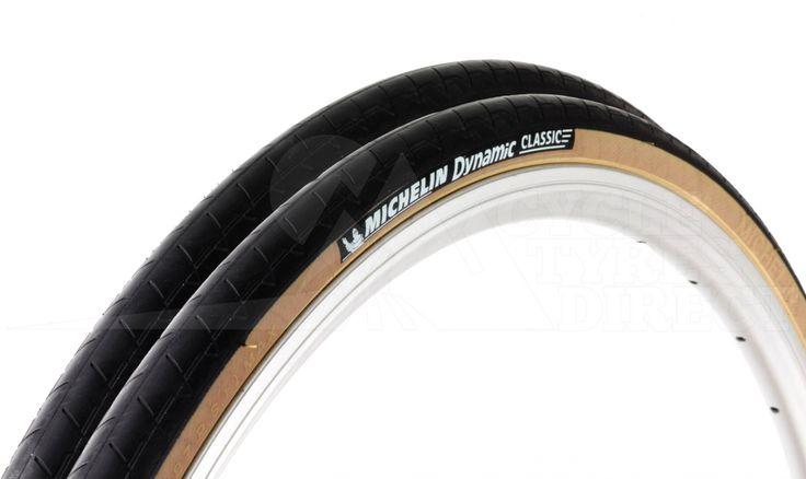 Lot de 2 Pneus Michelin Dynamic Classic - Pneus VTT, pneus vélo - cycle-tyres-direct.fr